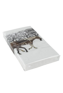 Winter Horses Guest Towels