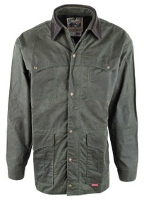 Schaefer Outfitters RangeWax High Plains Drifter Jacket - Loden -Front