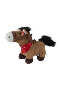 Toy - Gallop Singing and Trotting Brown Pony