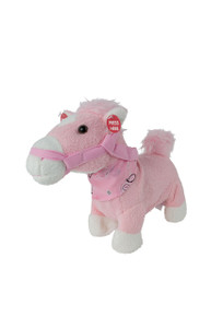 Toy - Dolly Singing and Trotting Pink Pony