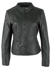 Rino & Pelle Agnesa Leather Jacket - Front