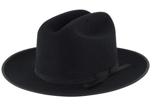 Stetson 6X Open Road Felt Hat - Black