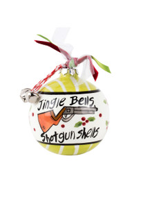 Jingle Bells Shotgun Shells Ornament