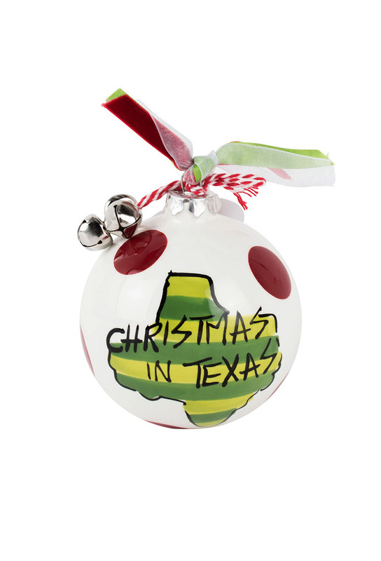 Christmas in Texas Ornament