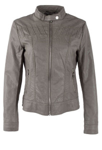 Rino & Pelle Jinka Faux Leather Jacket  - Front