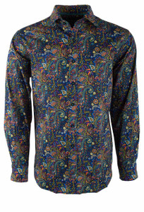 David Smith Australia Ink Winner Paisley Shirt - Front