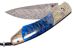 William Henry Spearpoint Golden Pine Pocket Knife