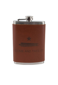 Gift - 8 OZ Come and Take It Flask - Front