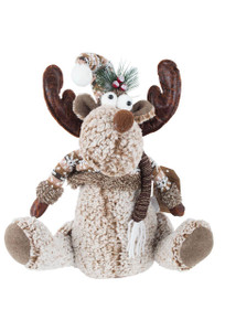 Moose Winter Decor