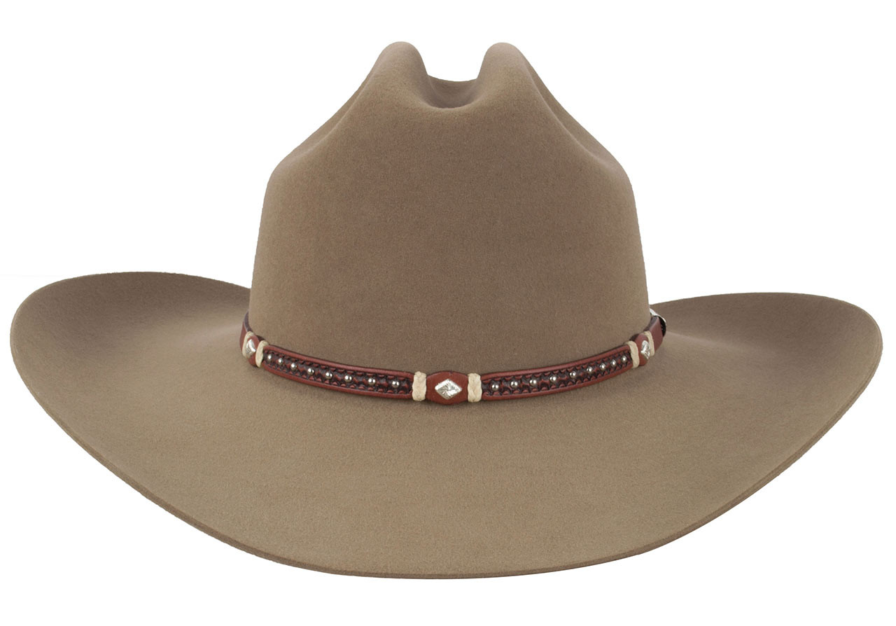 Ranch Style Home Decor Stetson 6x Missoula T Felt Hat Fawn Pinto Ranch