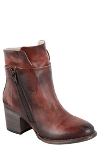 Freebird by Steven Women's Rust Clip Zipper Boots