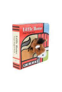 "Children's Book ""Little Horse"" Finger Puppet Book"