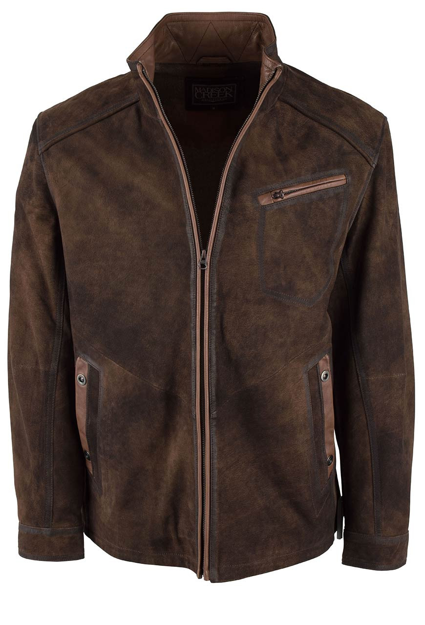 MADISON CREEK DURANGO JUNGLE SUEDE JACKET