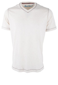 Robert Graham Nomads Heather White Tee - Front
