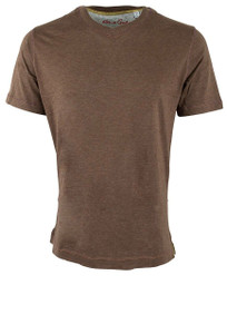 Robert Graham Nomads Heather Bark Tee - Front