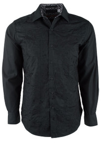 Robert Graham Onyx Black Shirt - Front