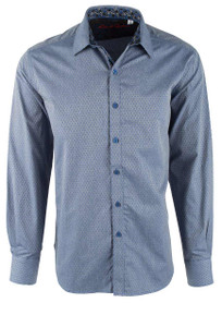 Robert Graham North Creek Blue Shirt - Front