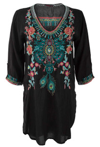 Johnny Was Zivelly Tunic - Front