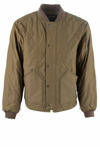 Filson Quilted Pack Jacket - Tan - Front