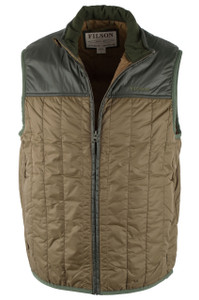 Filson Ultra-Light Vest - Field Olive - Closed