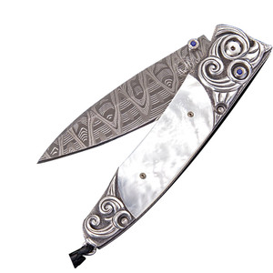 William Henry Gentac Waves Pocket Knife