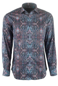 David Smith Australia Maple Cancun Print Shirt - Front