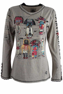 Double D Ranch Hopi Kachinas Tee - Front