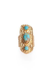 Christina Greene Turquoise Avery Ring - Front