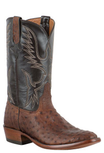 Rios of Mercedes Men's Sienna Full-Quill Ostrich Boots