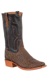 Rios of Mercedes Men's Cognac Safari Elephant Boots