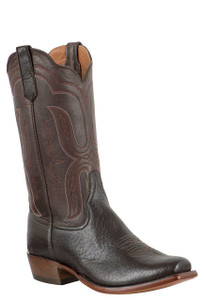 Rios of Mercedes Men's Chocolate Bolivian Javelina Boots