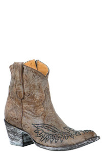 Old Gringo Women's Eagle Crystal Zipper Boots