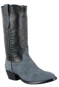 Stallion Men's Light Gray Elephant Boots
