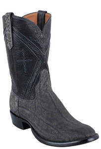 Rios of Mercedes Men's Granite Safari Elephant Roper Boots