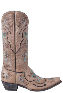 Old Gringo Women's Bone Bonnie Pipin Boots - Side