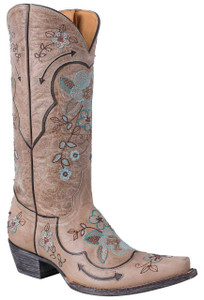 Old Gringo Women's Bone Bonnie Pipin Boots