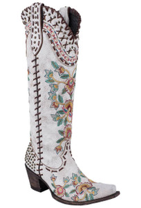 Double D Ranch by Old Gringo White Almost Famous Boots