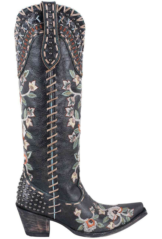 Double D Ranch By Old Gringo Black Almost Famous Boots