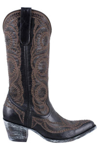 Old Gringo Women's Vesuvio Black Valentine Boots - Side