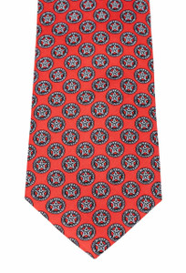 Paris Texas Apparel Co. Texas Ranger Division Tie - Red