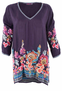 Johnny Was Araxi Tunic -Front