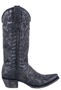 Lane Women's Black Robin Boots- Side