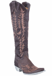 Old Gringo Women's Torino Chocolate Hair-on-Hide Mayra Boots
