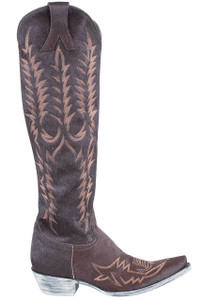 Old Gringo Women's Torino Chocolate Hair-on-Hide Mayra Boots - Side