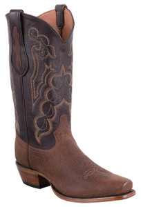 Tony Lama Signature Series Men's Red Brown Alabama Kangaroo Boots