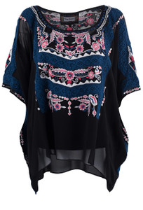 Vintage Collection Barbara Poncho - Front
