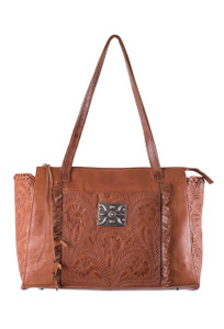 American West Annie's Secret Zip Tote - Front