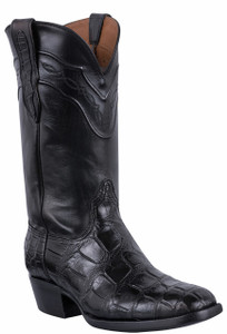 Black Jack for Pinto Ranch Men's Black Gator Boots