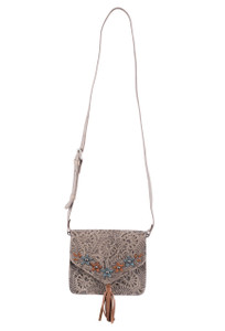 American West Flower Power Flap Crossbody