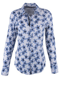 Cino Floral Print Button Down Shirt - Front